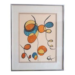 Alexander Calder Little Curliques Lithograph Poster For Sale