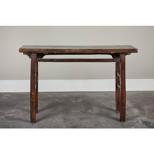 18th Century Chinese Elm Altar Table For Sale In Los Angeles - Image 6 of 11