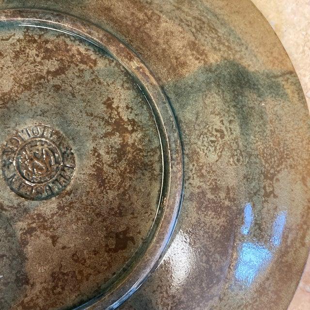 Italian Majolica Sea Star Plate For Sale - Image 3 of 7