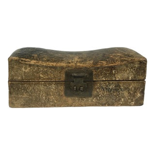19th Century Chinese Pillow Box For Sale