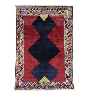 Vintage Persian Shiraz Rug - 06'09 X 09'09 For Sale