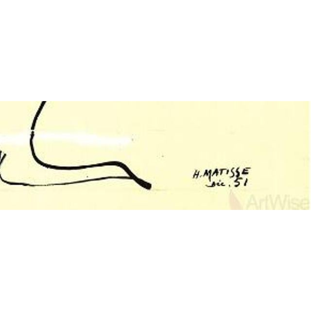 """Expressionism 2014 Large Lithograph, """"Le Buisson"""" by Henri Matisse For Sale - Image 3 of 4"""