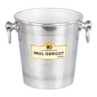 Mid 20th Century French Paul Gericot Champagne Bucket For Sale