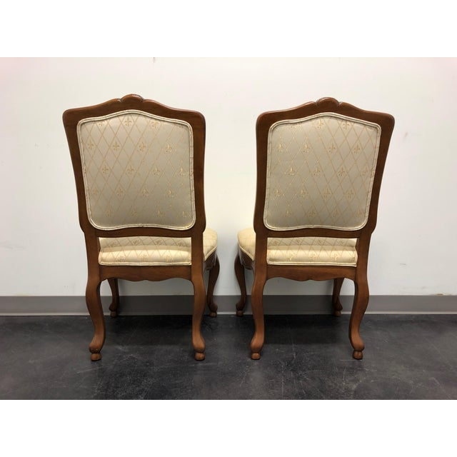 1990s Baker French Country Dining Side Chairs - Pair 1 For Sale - Image 5 of 12