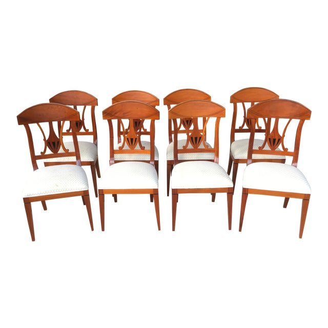 1990s Regency Dining Chairs - Set of 8 For Sale