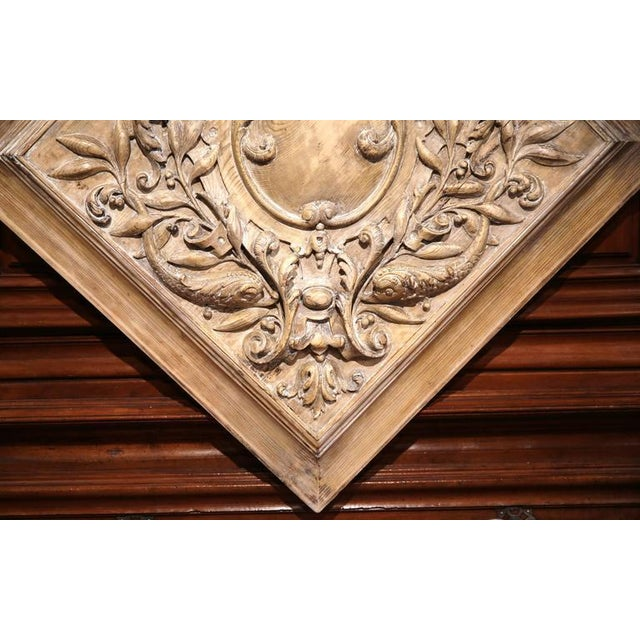 19th C. French Carved Plaque - Image 7 of 9