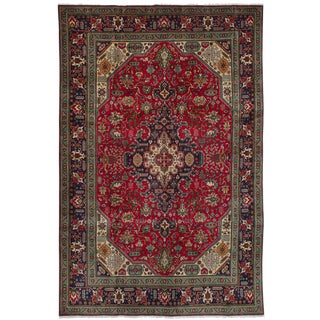 "Tabriz Persian Rug, 6'4"" x 9'9"" feet"