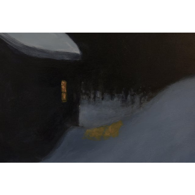 """Stephen Remick, """"Cozy"""", Contemporary Painting For Sale In Providence - Image 6 of 11"""