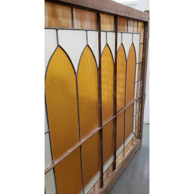 Large Late 19th Century Stained Glass Window Panel C.1880 For Sale - Image 9 of 12