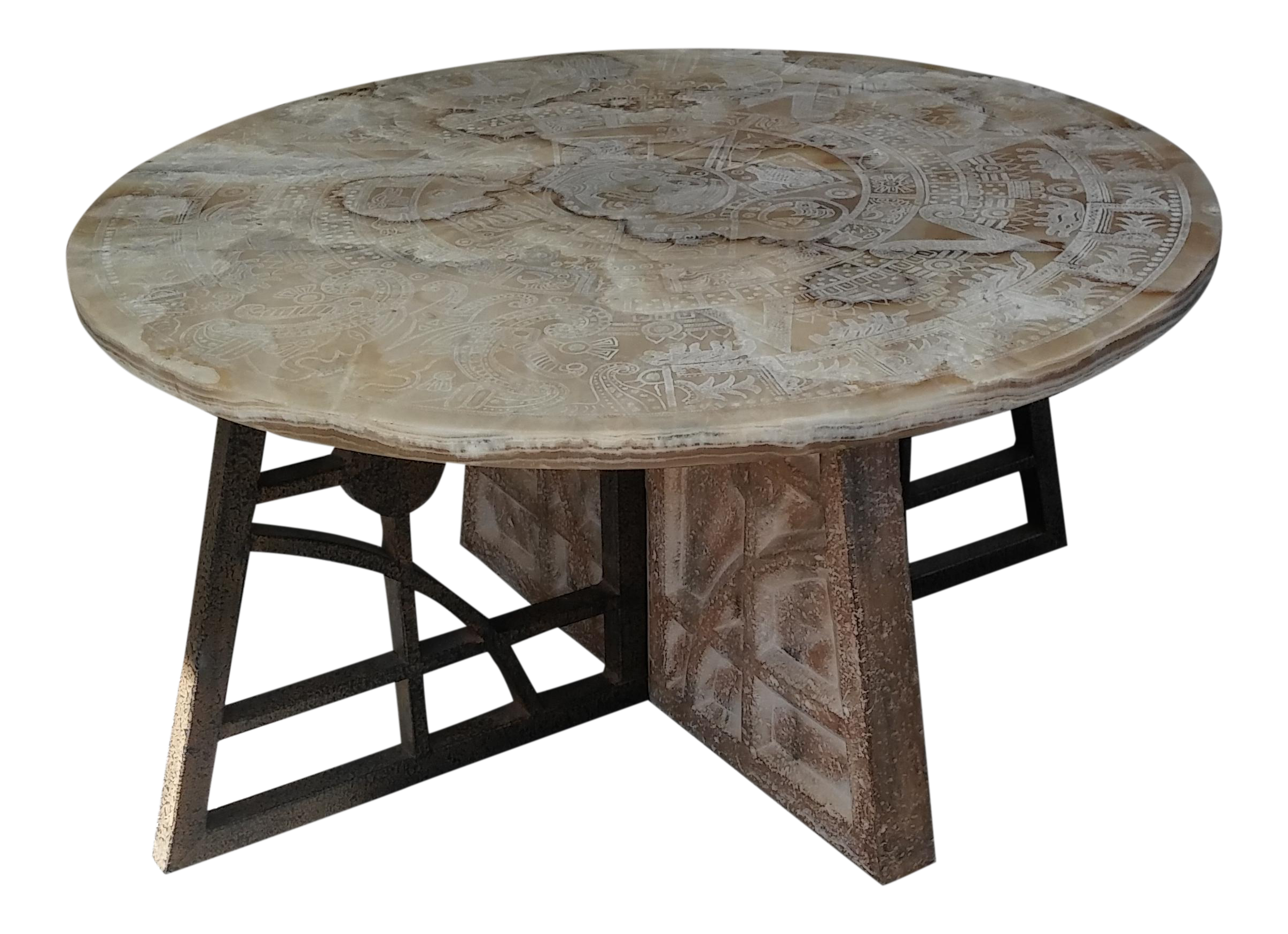 Agate Onyx Coffee Table Chairish