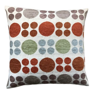 Room & Board Fabric Reversible Pillow For Sale