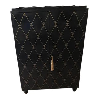 Barbara Barry for Baker Black Armoire For Sale