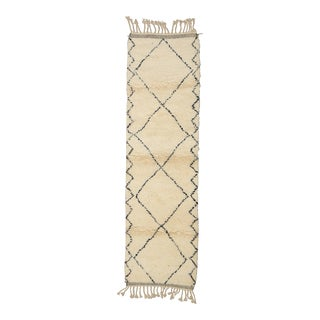 Moroccan Berber Runner- 2′7″ × 9′1″ For Sale