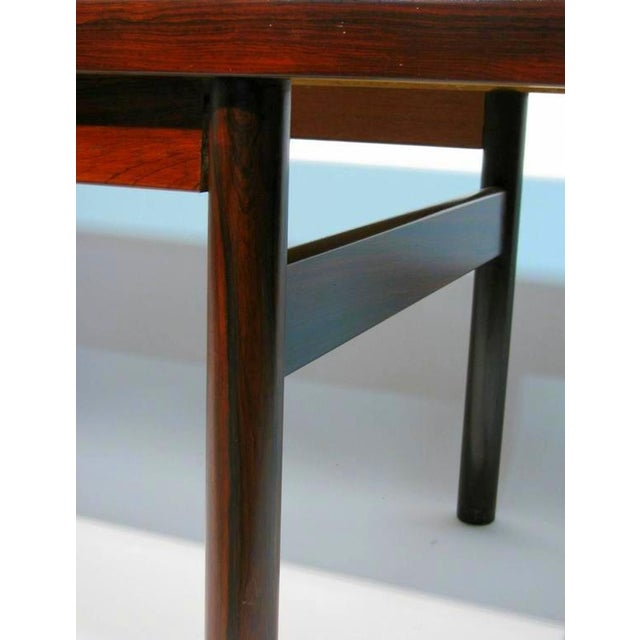 Modern Rosewood Coffee Table with Extending Top - Image 5 of 8