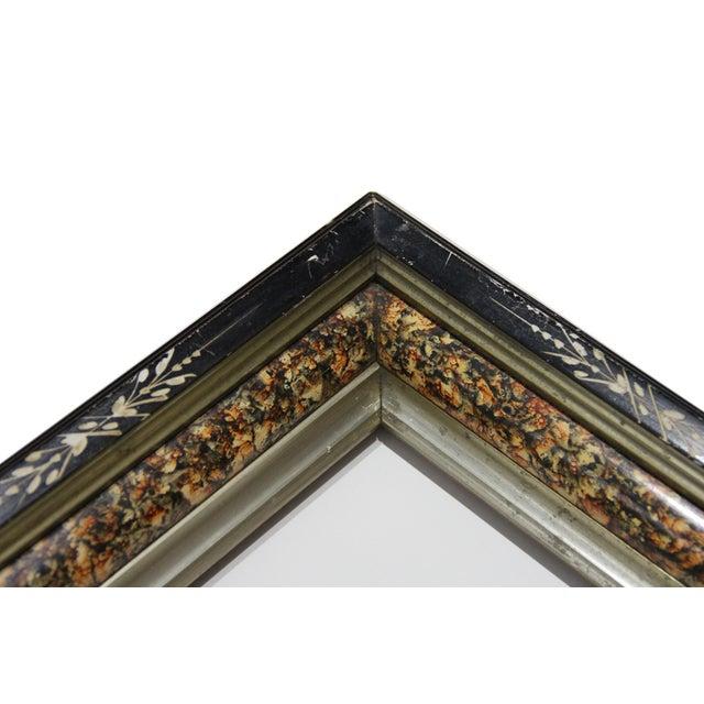 Antique American Ebonized Wood Frame - Image 2 of 5