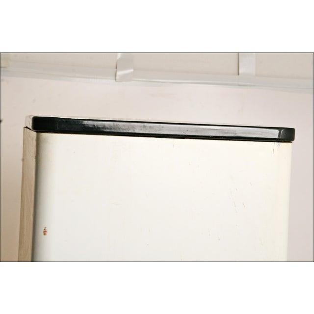 Mid-Century Enamel Top Metal Storage Cabinet - Image 10 of 11