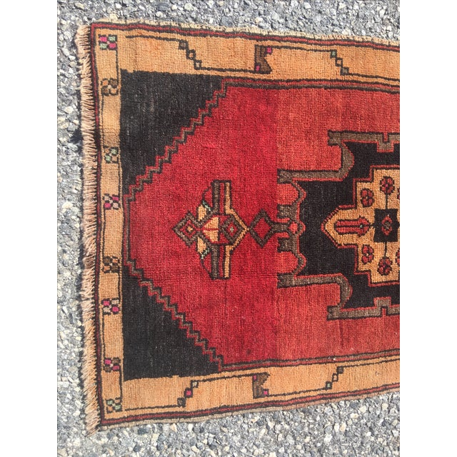 Vintage Anatolian Turkish Rug - 2′ × 3′6″ - Image 4 of 6