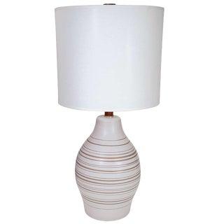 Gordon Martz Horizontal Striped Lamp For Sale