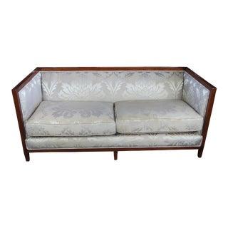 Baker Furniture Maple Archetype Sofa For Sale