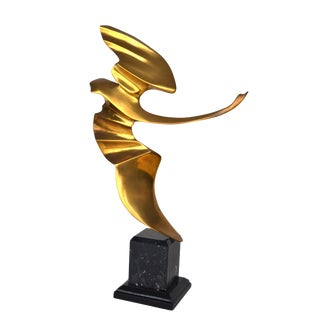 Bronze Sculpture by Somchai For Sale