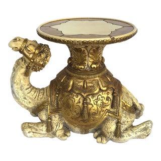 1960s Figurative Fiberglass Camel Side Table For Sale
