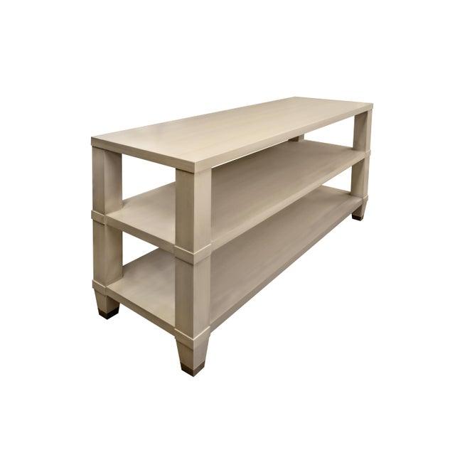 Boho Chic Kindel Furniture Garden Street Multifunctional Console For Sale - Image 3 of 10