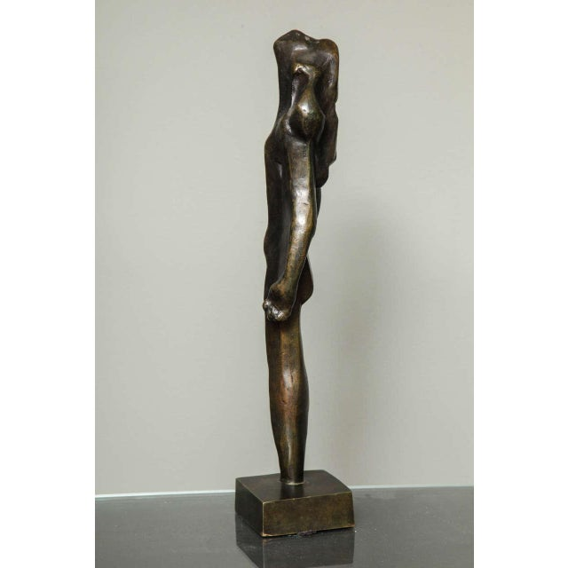 """French """"L'Esperance"""" Cubist Bronze by Joseph Csaky For Sale - Image 3 of 9"""