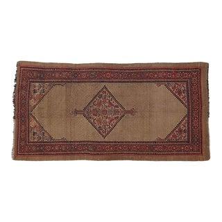 "1900's Leon Banilivi Antique N.West Persian Rug , 4'6"" X 8'10"" For Sale"