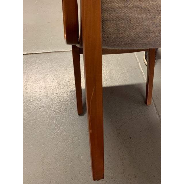 1980s Vintage Mid-Century Modern Bill Stephens for Knoll Chairs - A Pair For Sale - Image 9 of 12