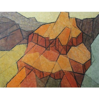 "1960s Hildegarde Haas ""Canyon Dome"" Painting"