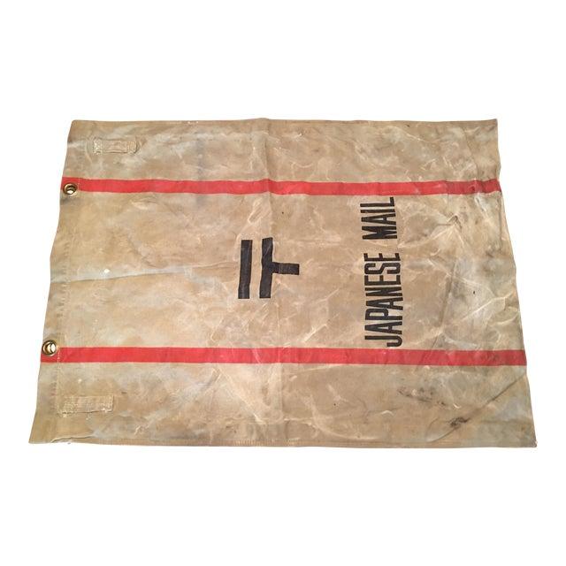 1940's Tokyo Mail Bag Japan Post For Sale