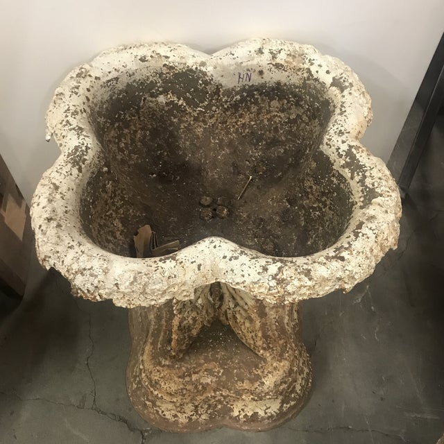 Late 19th Century Late 19th Century Vintage Cast Iron Planter For Sale - Image 5 of 6