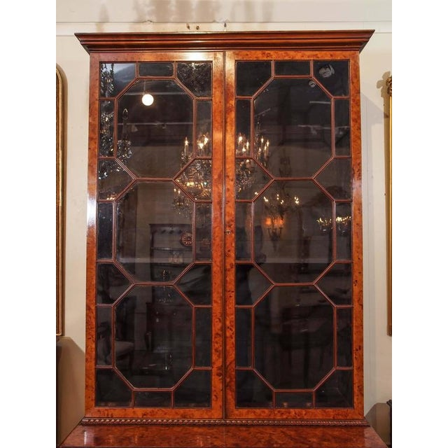 Georgian Antique English Bookcase For Sale - Image 3 of 10