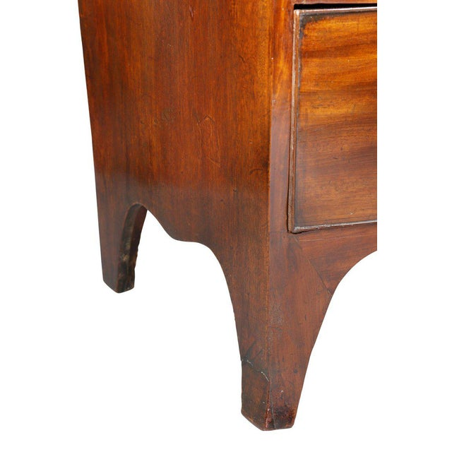 George III Mahogany Chest of Drawers For Sale - Image 5 of 8