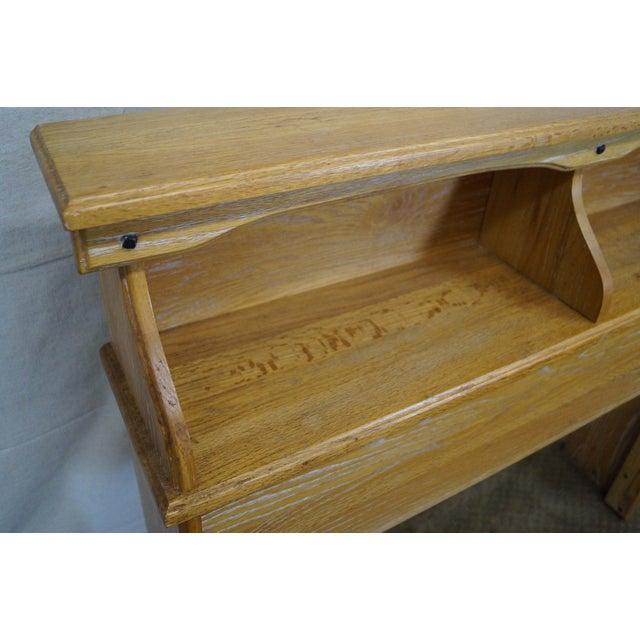 Brandt Ranch Oak Bookcase for Twin Size Headboard - Image 7 of 9