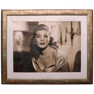 Large Scale George Hurrell Photograph, Maureen O'hara, 1946 Ltd Ed With Coa For Sale