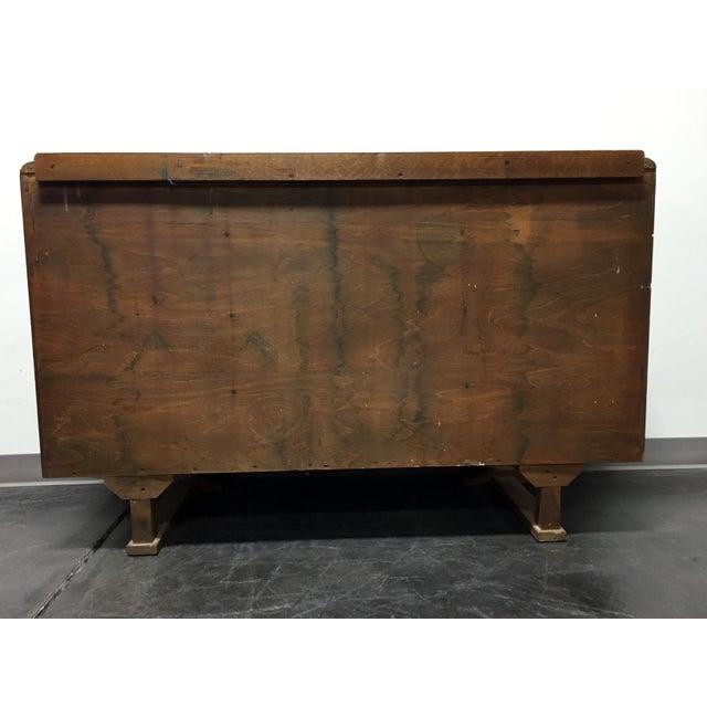 Harris Lebus Vintage Art Deco Tiger Oak Sideboard For Sale - Image 9 of 11