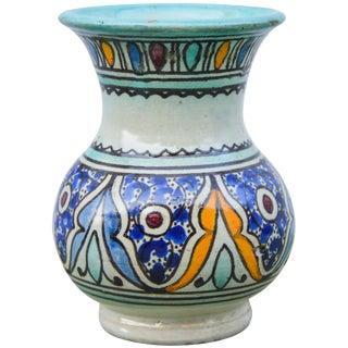 Antique Andalusian Ceramic Vase For Sale