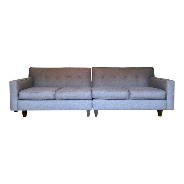 Mid-Century Modern Rowe Furniture Sectional Sofa
