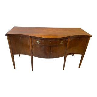 1876 Hepplewhite Mahogany Sideboard For Sale