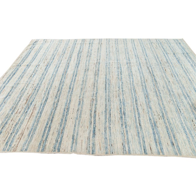 """2010s 21st Century Modern Moroccan-Style Rug, 8'0"""" X 9'10"""" For Sale - Image 5 of 11"""