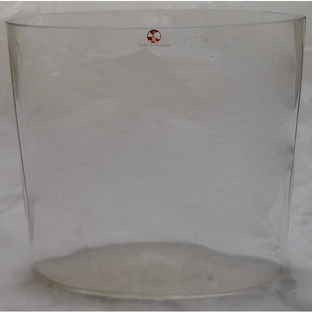 Signed Tapio Wirkkala Glass Vase From Finland - Image 2 of 8