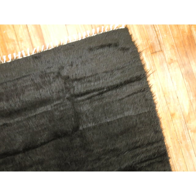 Vintage Mohair Rug - 4'7'' x 6'9'' - Image 3 of 9