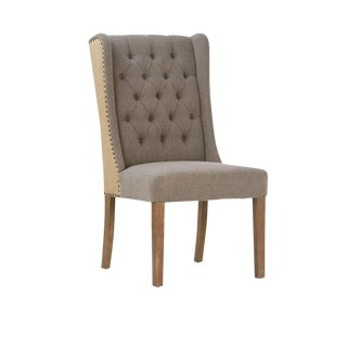 High Back Tufted Dining Chair For Sale