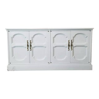 Painted White Credenza