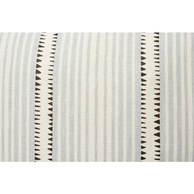 In collaboration with David Oliver, this Schumacher design is a hand-drawn stripe with beguiling details and a chic...