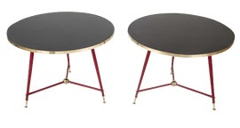 Image of Black Side Tables