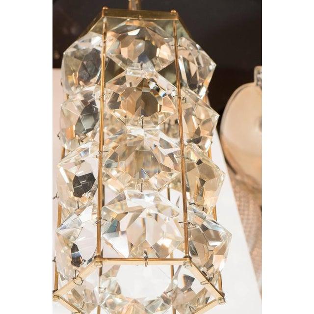 Mid-Century Modernist Pendant Chandelier For Sale - Image 4 of 7