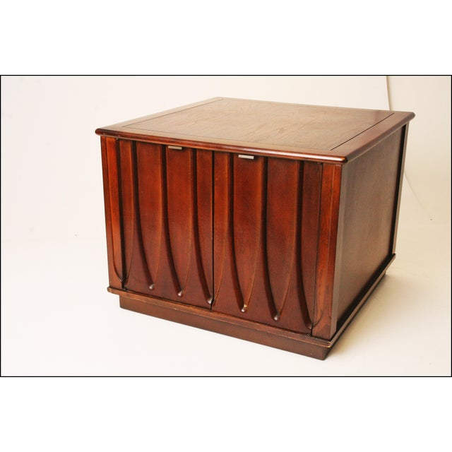 Harvey Probber Style Mid-Century Modern Square Side Table - Image 2 of 11