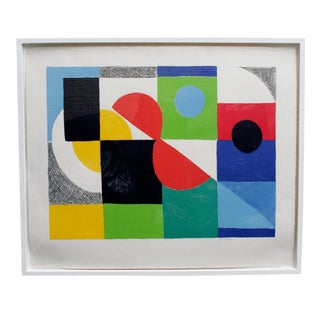 Sonia Delaunay Lithograph For Sale